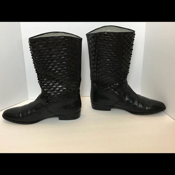 Lorenzo Banfi Other - Lorenzo Banfi_Leather_ Black Boots